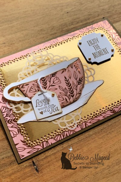 Enjoy the Moment Card by Secrets To Stamping