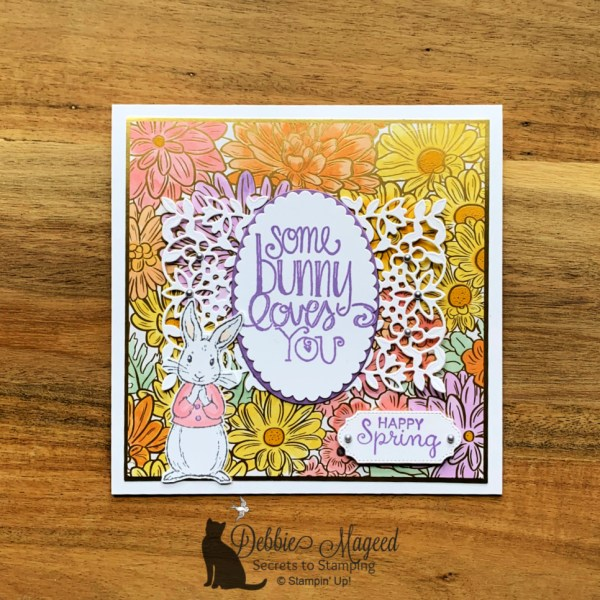 Pretty Spring Card by Secrets to Stamping