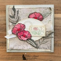 Painted Poppies Card by Stampin
