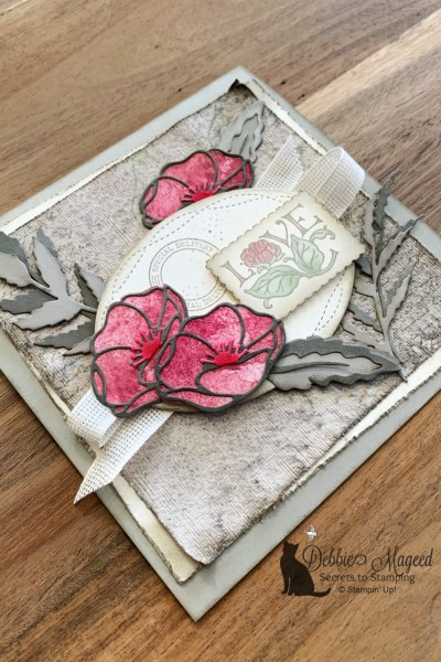 Painted Poppies Card by Stampin' Up!