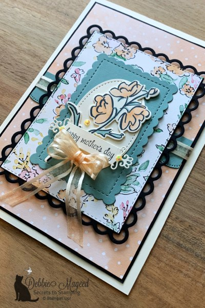 Color & Contour Mother's Day Card by Secrets To Stamping