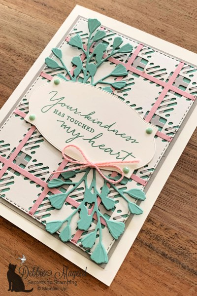 Thank You Card by Secrets To Stamping