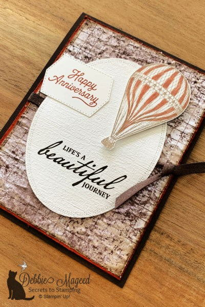 Soar Confidently Anniversary Card by Secrets To Stamping
