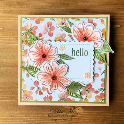 Art In Bloom All Occasion Card for the Sisterhood of Crafters