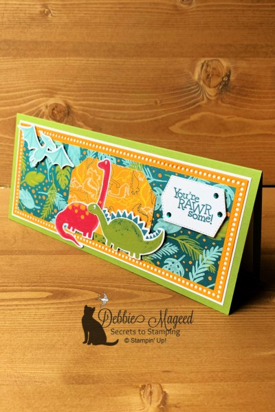Dino Days Card by Secrets To Stamping