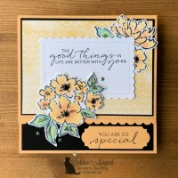 Hand-Penned Petals Card by Secrets To Stamping
