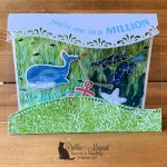 Whale Done Acetate Tent Card for Creative Creases Challenge
