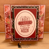Best Chapter Tower Fold Card by Secrets To Stamping