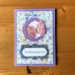 Window Pop-Up Butterfly Brilliance Card for Creative Creases Challenge