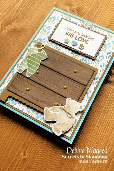 All For Baby Card by Secrets To Stamping