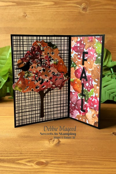 Beauty of Friendship Pinwheel Tower Card by Secrets To Stamping