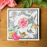 Prized Peony Dressed to Impress for the Sisterhood of Crafters Challenge