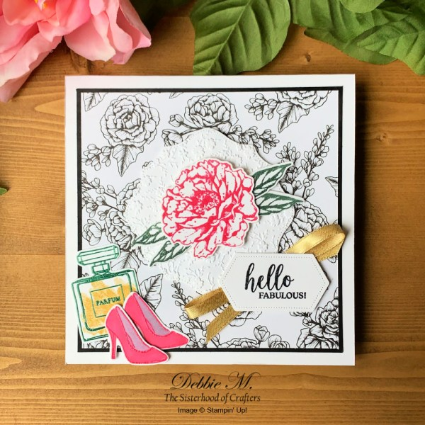 Prized Peony All Occasion Card by Secrets To Stamping