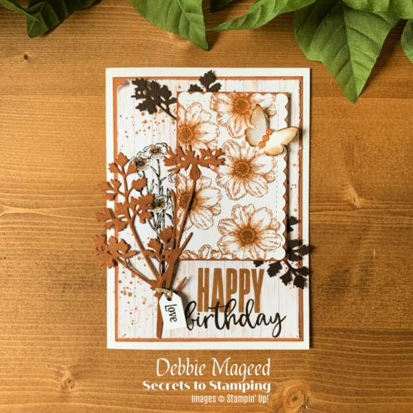 Quiet Meadow Birthday Card by Secrets To Stamping