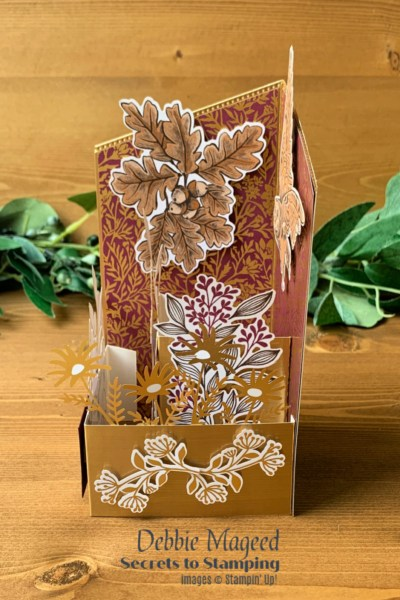 Blackberry Beauty Birthday Card by Secrets To Stamping