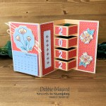 Building Block Card Using Flowers of Friendship for Creative Creases
