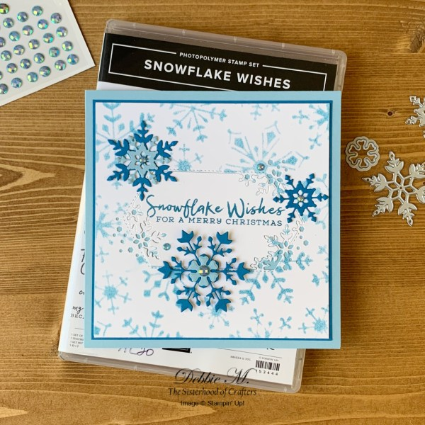 Snowflake Wishes Holiday Card by Secrets To Stamping