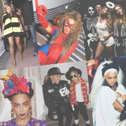 Beyonce's 2013-2015 Costumes