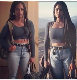 Janet Jackson as Justice in Poetic Justice