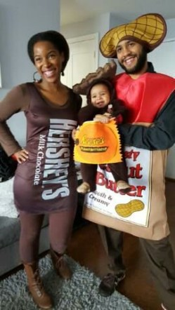 Peanut Butter & Chocolate Family Costume