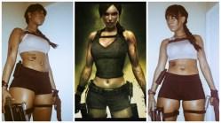 @marymilano as Tomb Raider