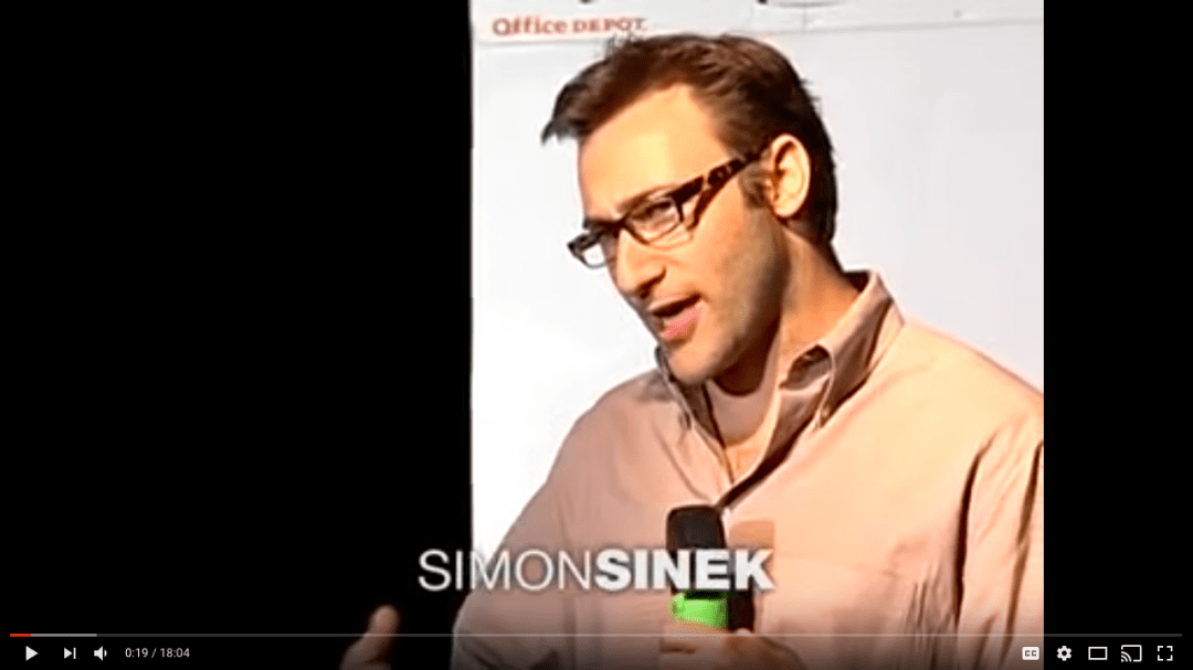 Simon Sinek TED Talk on Starting with Why