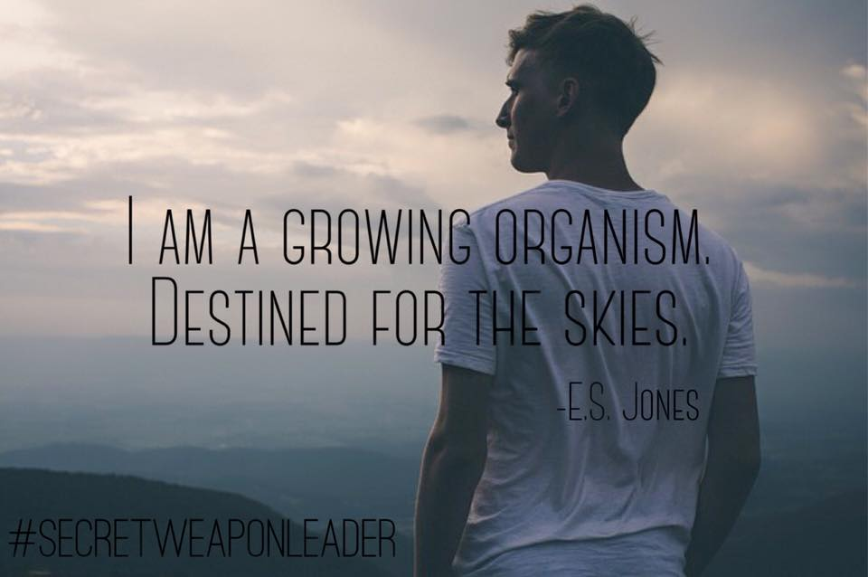 Im a growing organism destined for the skies