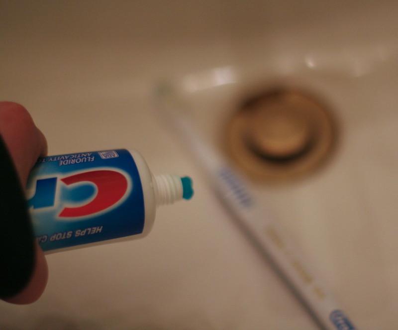 Bad Breath: brushing your teeth