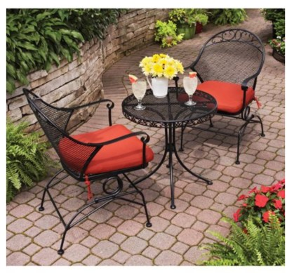 A patio furniture - Bistro set