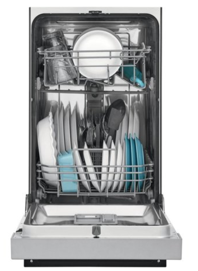 A Freestanding dishwasher