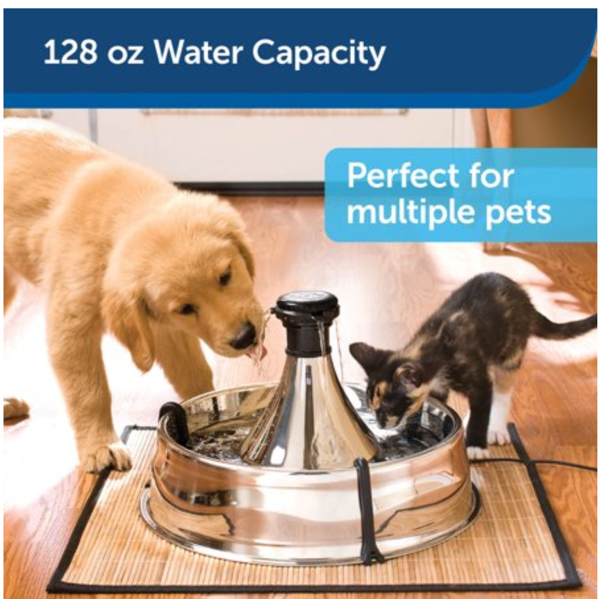 Smart Pet Gadgets: A multi-pet cat and dog water fountain