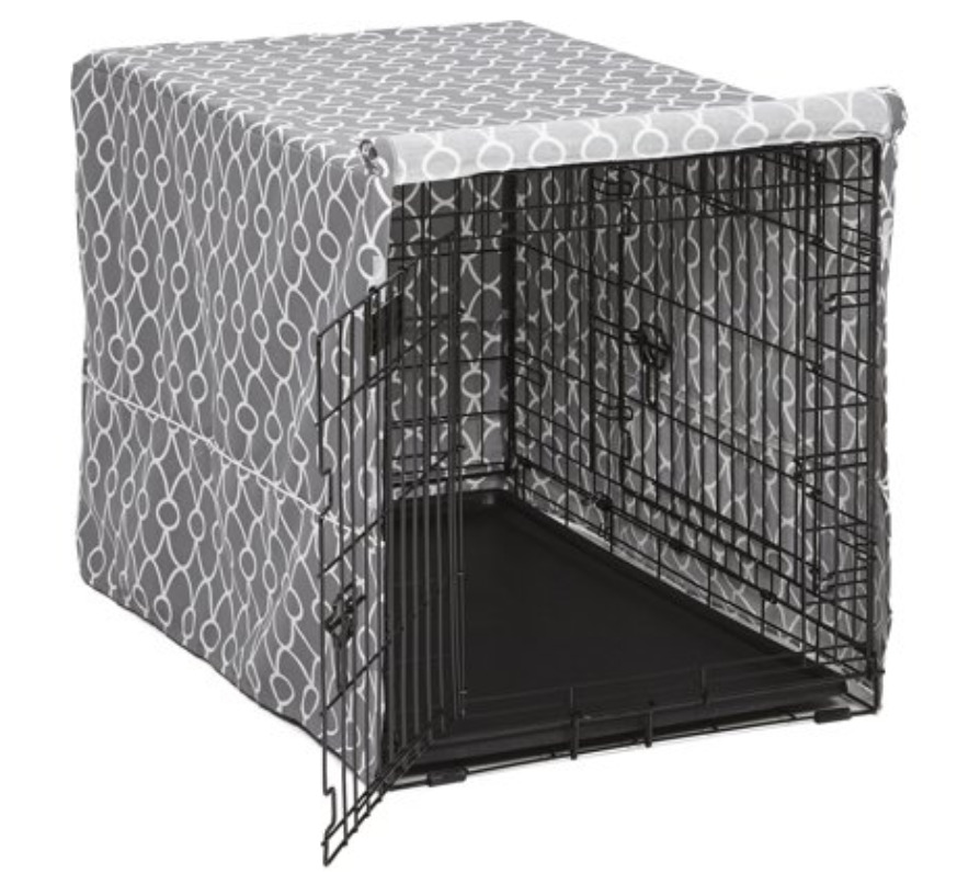 New Puppy Checklist: a Midwest quiet time defender dog crate cover