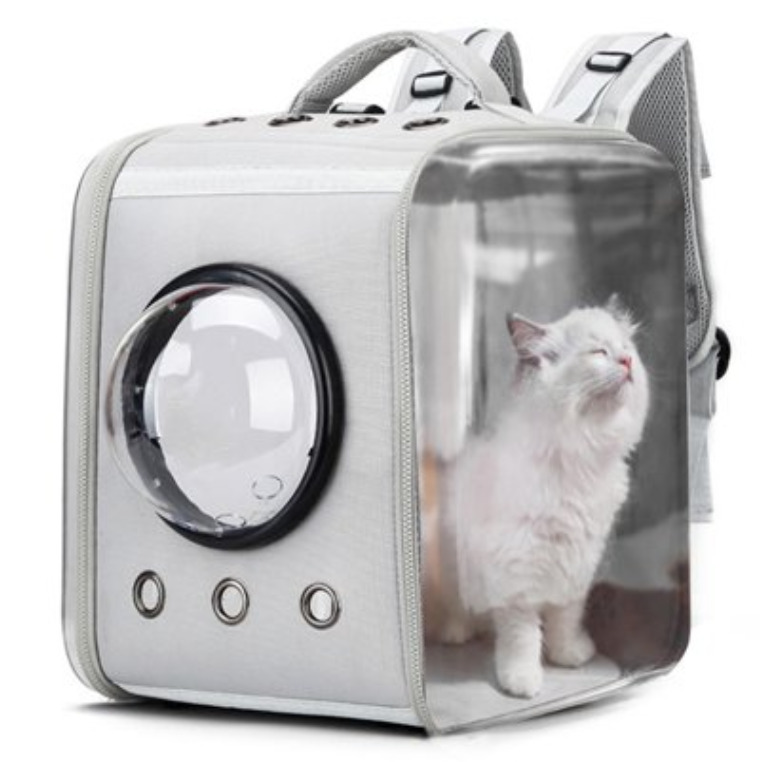 Cat Supplies: Portable breathable pet carrier backpack