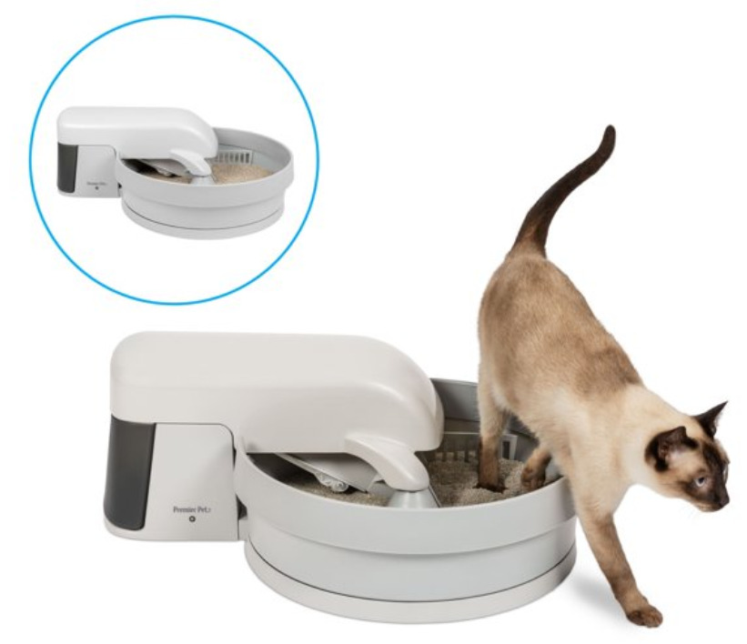 Cat Supplies: Pet auto-clean litter box system