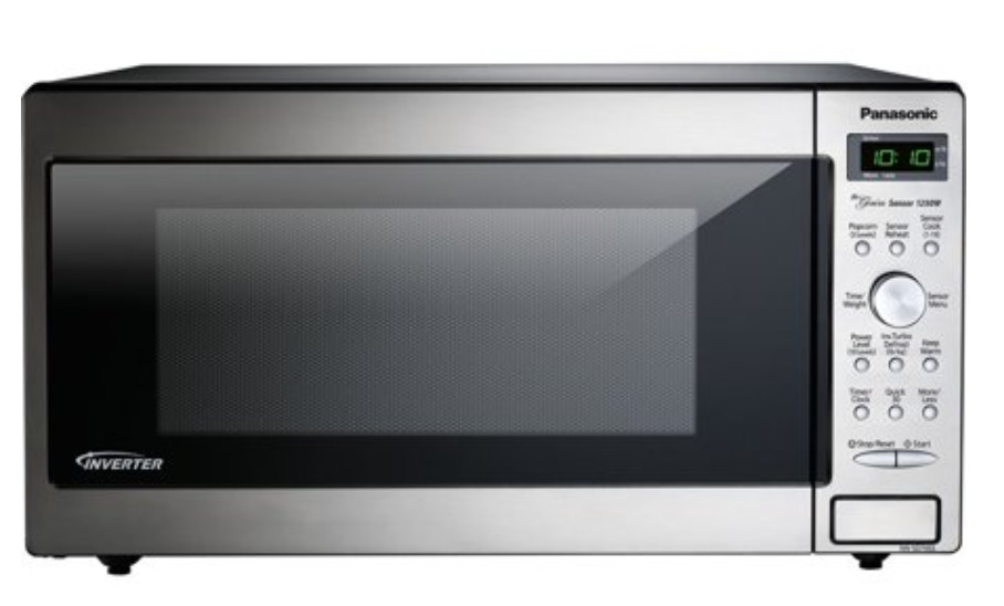 Panasonic 1.6 Cu. Ft. 1250W Genius Sensor Countertop/Built-In Microwave Oven