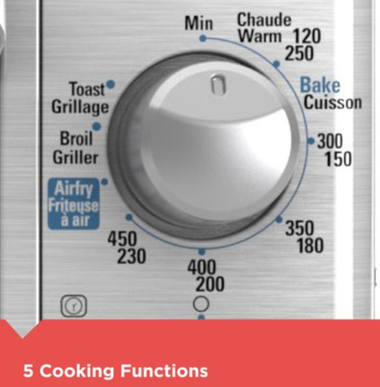BLACK+DECKER Extra Wide Crisp N Bake Air Fry Toaster Ovens,