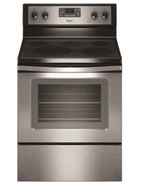 Whirlpool 5.3 cu. ft. Electric Range with Self-Cleaning Ovens
