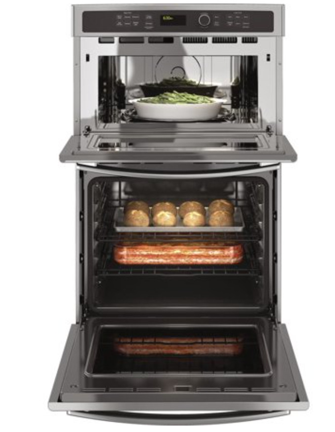 GE JK3800SHSS 27 Built-In Combination Microwave/Oven with Self-Clean (Oven)