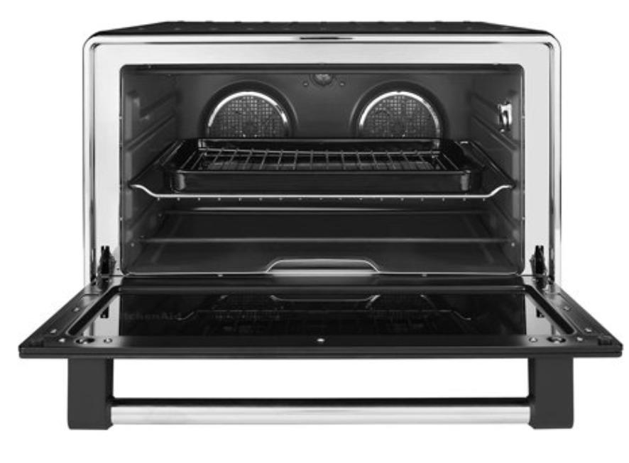 KitchenAid KCO255BM Dual Convection Countertop Toaster Ovens