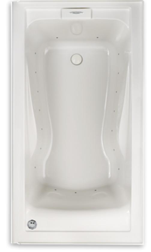 American Standard Evolution 60 in x 32 in Deep Soak EverClean Whirlpool