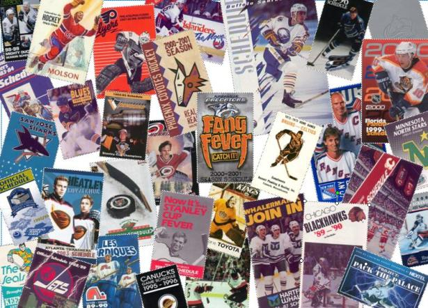 pocket schedule collage
