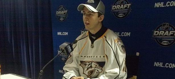 NHL Draft – Taylor Aronson