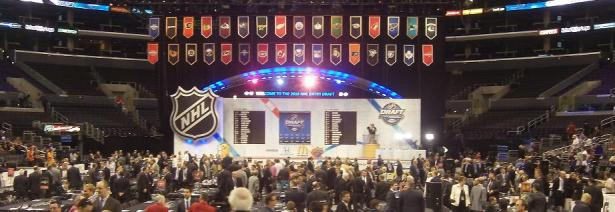 NHL Draft – banner of floor