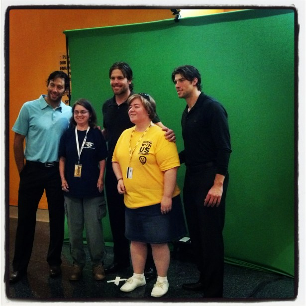 photos with Cullen, Smith and Fisher