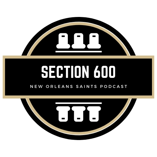 Section 600 Logo, New Orleans Saints Podcast
