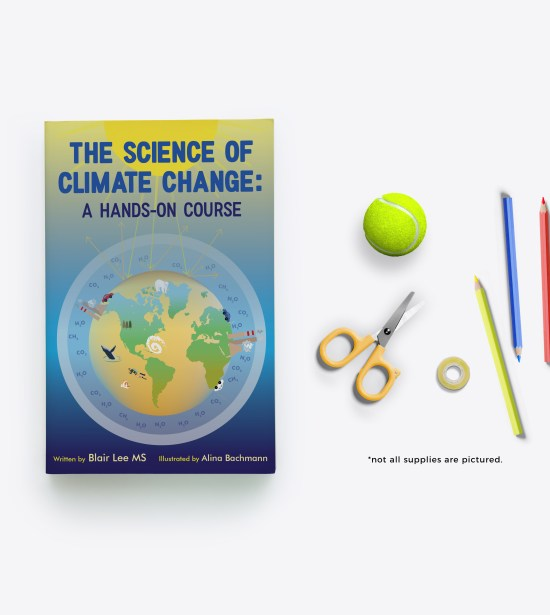 The Science of Climate Change Print book and supplies