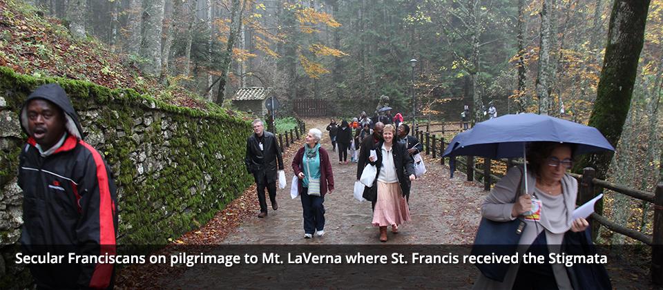 20080429 – pilgrimage to Mt LaVerna – Secular Franciscan Order – USA