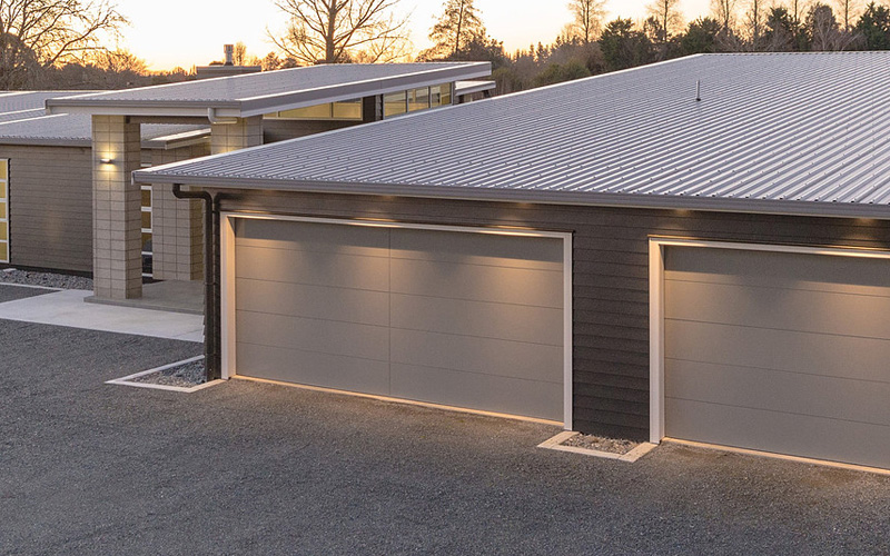Custom Made Garage Door