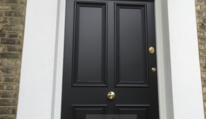 Luxurious living: steel security door in Chelsea from Secure House