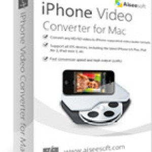 >75% Off Coupon code Aiseesoft iPhone Video Converter for Mac
